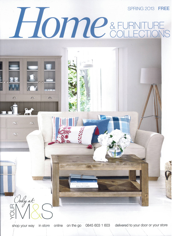 Interiors photographer Adrian Briscoe and stylist Laura Fulmine shot the  cover and openers for the Spring 2013 M S Home and Furniture book. Adrian Briscoe and Laura Fulmine   Marks   Spencer   Sarah Kaye Blog