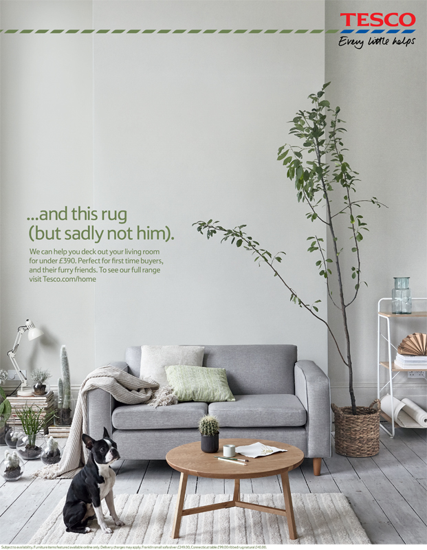 Karna Maffait Shot The Recent Homes Advertising Campaign For Tesco With Styling By Kate Wood Is Running Both Online And In London