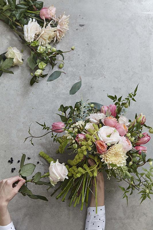 Jonathan West Shoots The London Flower School 171 Sarah Kaye