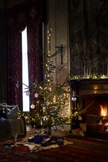 Amanda Koster styles the Waterford Christmas shoot.
