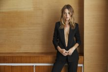 Rodolphe Opitch shoots for French fashion label Sézane with Camille Rowe