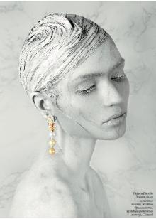 Helene Sivilia styles for Vogue Ukraine & Vogue Russia