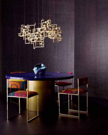 Chris Everard & Arabella McNie shoot the Scope wallcoverings for Zinc Textile