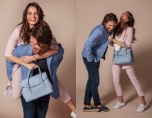 Jonathan West & Viv Harris shoot the new collections for Osprey London, the British leather goods and giftware house