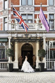 Polly Wreford shoots for The Connaught Hotel