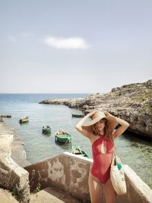Rodolphe Opitch shoots summer campaign for Sezane on location in Puglia, Italy