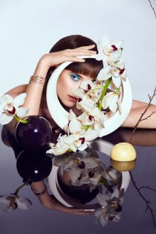 Helene Sivilia styles fine jewellery story for L'Officiel Singapore