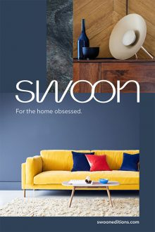 Adrian Briscoe and Elkie Brown shoot the new advertising campaign for Swoon Editions