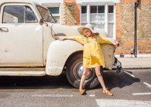 Viv Harris styled kids editorial fashion story 'No Hippy Chick' for Luna Magazine