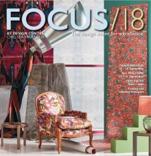 Chris Everard and Arabella McNie shoot for Design Centre Chelsea Harbour Focus '18