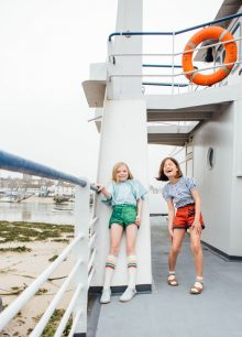 Viv Harris styled kids fashion editorial story 'La Vive Aquatique' for Milk Magazine