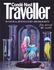 Nato Welton shoots the annual Watch and Jewellery Guide's front cover and main feature available with Condé Nast Traveller's December 2018 Issue
