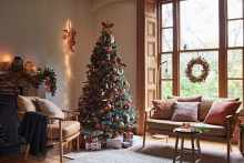 Adrian Briscoe & Elkie Brown shoot Christmas homewares for John Lewis