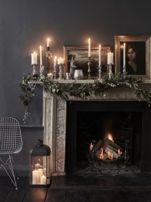 Chris Everard and Elkie Brown shoots Christmas '18 interiors collection for The White Company