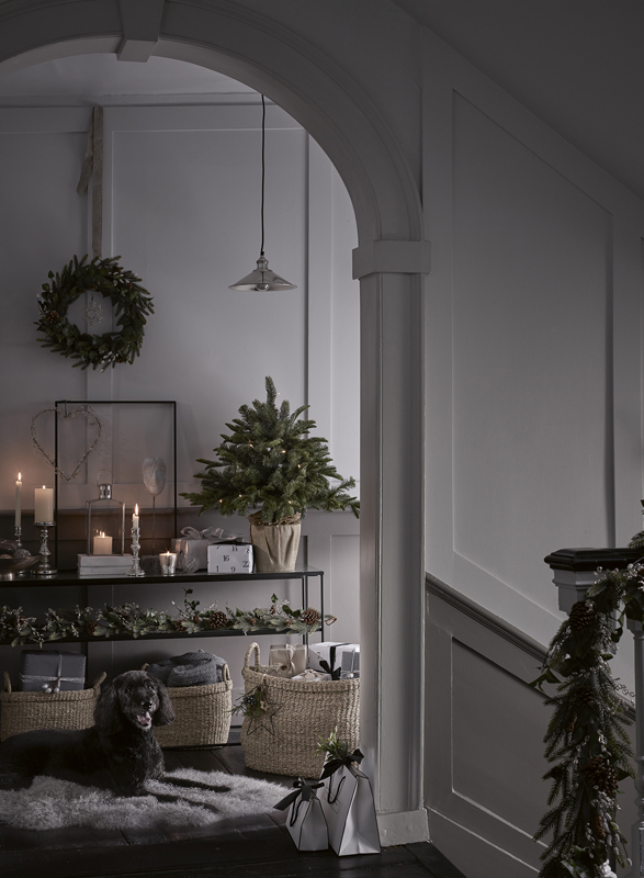 Chris Everard and Elkie Brown shoots Christmas '18 interiors