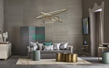 Chris Everard shot the decorative and enticing new textured plains and decorative woven fabrics, set off to awesome effect with raw silk wallcovering from the Casenove collection from Zinc Textile '19