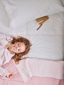 Portland Mitchell styles interiors for The Little White Company