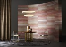 Chris Everard shoots the new silk wallcoverings, curtaining and plains collection for Zinc Textile