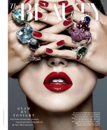Sarah Ford shoots haute jewellery, featured in The Beauty Bazaar for US Harper's Bazaar and L'Officiel.