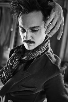Johnathan West's portraits of Henry Lloyd Hughes for Flaunt Magazine
