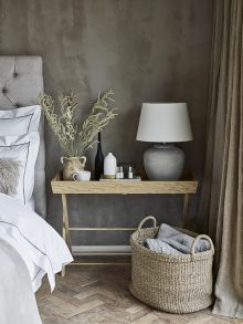 Chris Everard and Elkie Brown shoot for The White Company