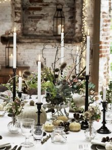 Polly Wreford shoots autumn dining and food for The White Company
