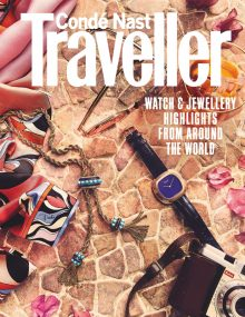 Nato Welton shoots the Condé Nast Traveller luxury watches and jewellery supplement