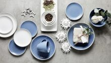 Karna Maffait and Annette Riid-Carstensen shoot Christmas collections for Royal Doulton