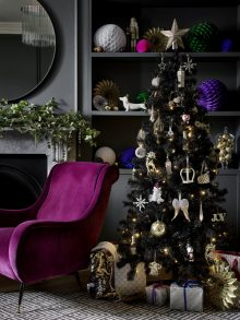 Polly Wreford shoots the Christmas 2019 Collection for George at Asda