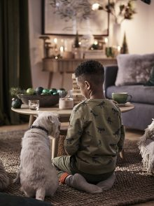 Chris Everard and Elkie Brown shoot Christmas 2019 Collection for John Lewis & Partners