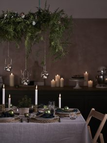 Chris Everard and Elkie Brown shoot the Christmas 2019 Collection for John Lewis & Partners