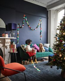 Chris Everard and Elkie Brown shoot for John Lewis and Partners